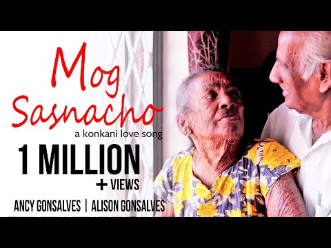Konkani Love Song - Mog Sasnacho - Alison Gonsalves Feat. Ancy (Official Video) | Konkani Songs