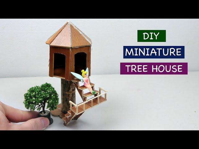 DIY Miniature Tree House #4 | How to make a simple Fairy House