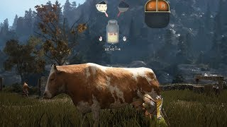 Black Desert Online: Horse Training, Tents and Cow Milking (2nd CB Korea)