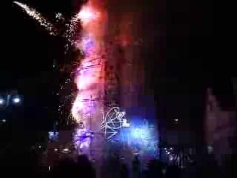 Fiestas Vista Hermosa , Castillo día 22 de Diciembre