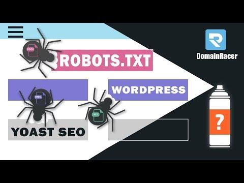 """Create Robots.txt File For Wordpress"" (With  Sitemap.xml) | Yoast SEO Plugin"