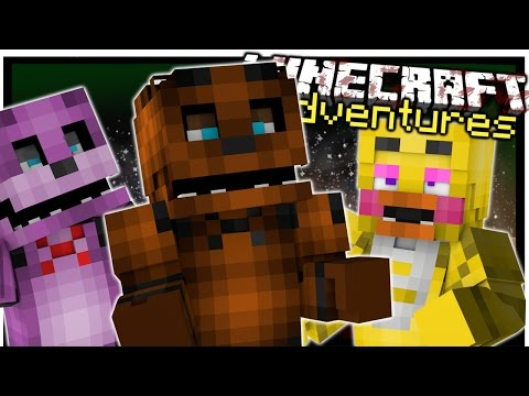 FIVE NIGHTS AT FREDDY'S | FNAF Minecraft Roleplay | Minecraft Modventures