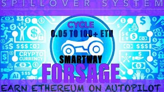 Smartway Forsage | Overview & How to Earn 100+ Ethereum | Perpetual Income On AutoPilot
