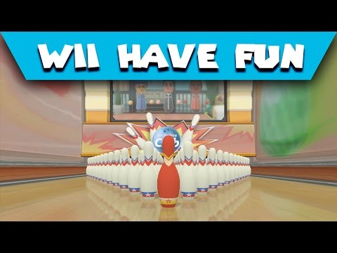 Wii Have Fun #313: Wii Sports Club (Game 17 part 1; Bowling 10 pin and 100-pin)