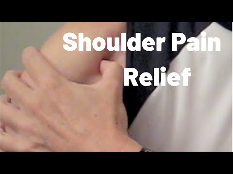 when a guy massages your shoulders