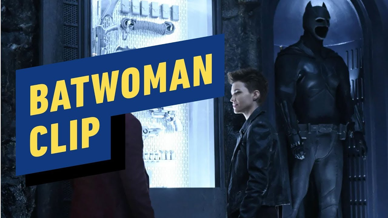Batwoman - Der Batcave-Clip + video