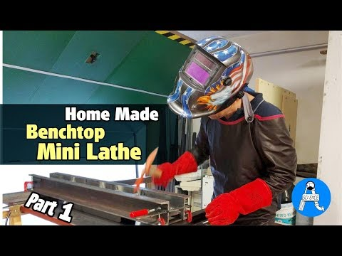Home made Benchtop Metal Lathe - part 1