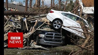 Storm Michael: 155mph winds leave trail of devastation   - BBC News