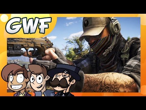 Games with Friends - TEAMWORK!!! (Ghost Recon: Wildlands Beta)
