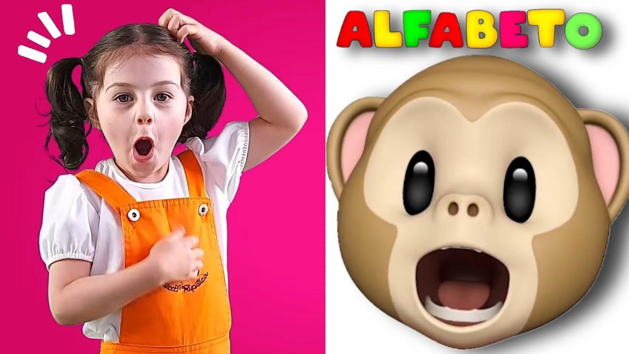 ABC Aprendendo o alfabeto com Mimi Julinha