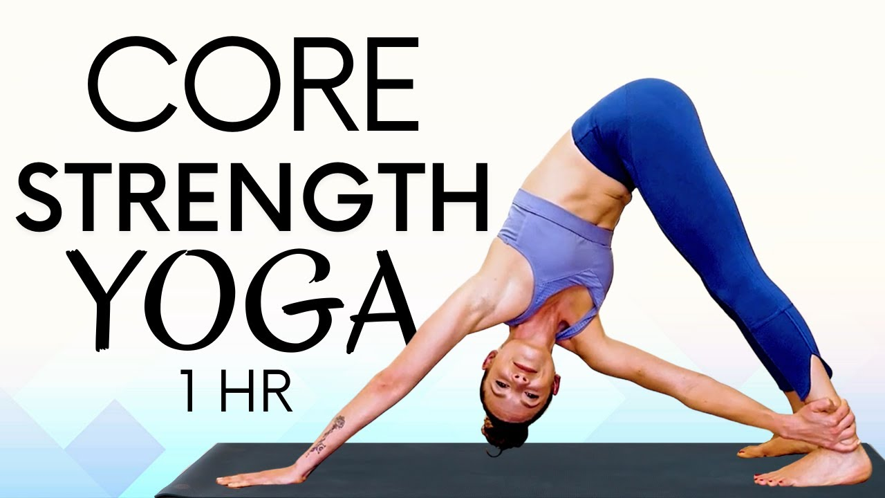 Yoga for Weight Loss! Intermediate 1 Hour Yoga for Burning Belly Fat at Home!