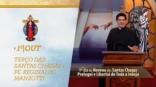 Gambar cover Terço das Santas Chagas   Padre Reginaldo Manzotti   1º de Outubro de 2018