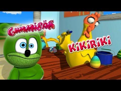KikiRiki - Gummibär The Gummy Bear - Music Video - Kikeriki