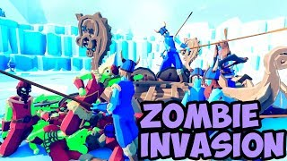 Zombie Invasion #02 - Viking Faction -TABS MODS Unit Possession Update