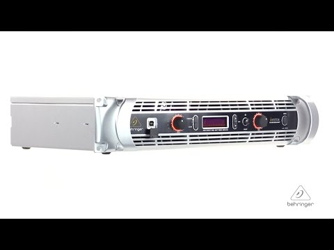 iNUKE NU12000DSP Ultra-Lightweight, High-Density 12000-Watt Power Amplifier with DSP Control