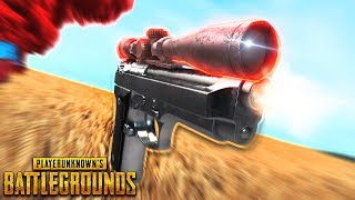 8x Scope on a PISTOL ??!  | Best PUBG Moments and Funny Highlights - Ep.277