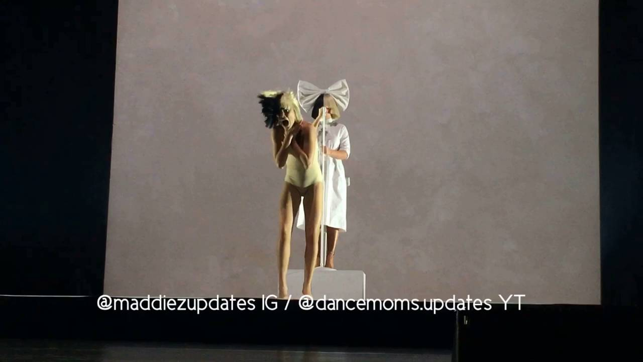ziegler nude leotard Maddie Ziegler's leotard breaks while performing Alive with Sia HQ