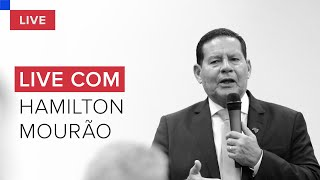 Hamilton Mourão, Vice-presidente Do Brasil, Concede Entrevista A Augusto Nunes