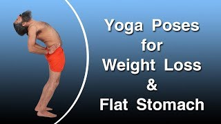 Best Yoga Poses for Weight Loss & Flat Stomach | Swami Ramdev