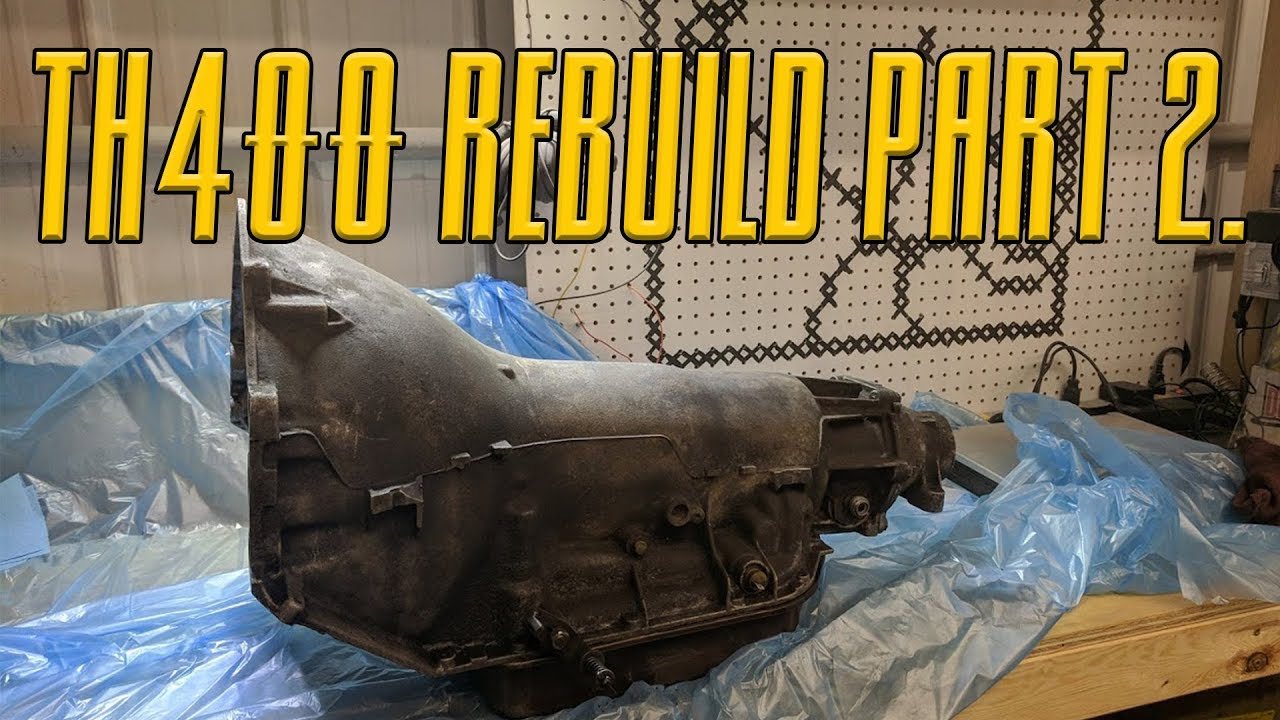 turbo 400 rebuild video