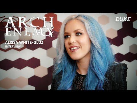 Arch Enemy - Interview Alissa White-Gluz - Paris 2017 - Duke TV [FR Subs]