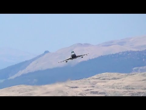 Low Flying In Mach Loop With ATC Radio  - Airshow World