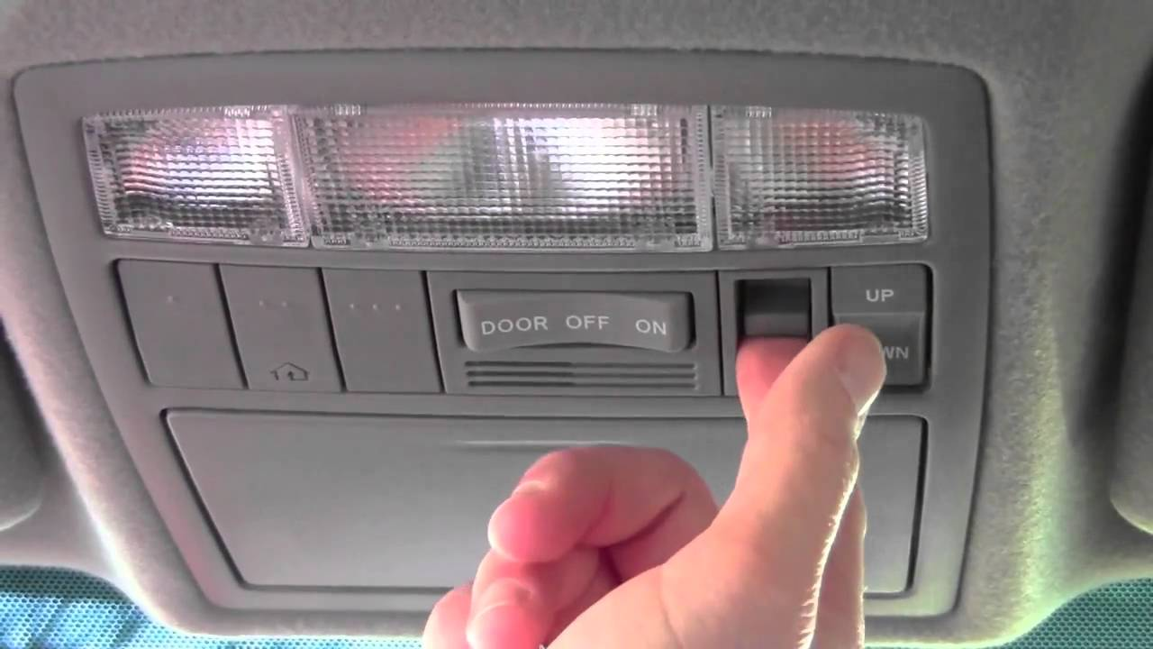2011 Toyota Camry Sunroof How To By Toyota City