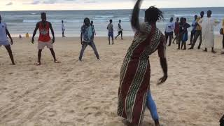 Sabar Jam Session on the beach of Yoff, Dakar, Senegal August …
