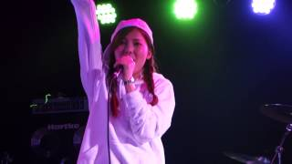 AiR「Mr.Snowman」(E-girls)、心斎橋BASSO、15.01.13