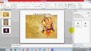 how to add background sound in our ppt in hindi