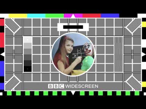 BBC Test cards on BBC HD Shutdown 26th March 2013
