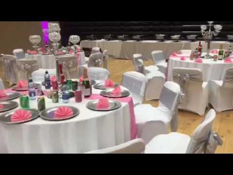 Gorgeous  Pink & Silver Decor 😍