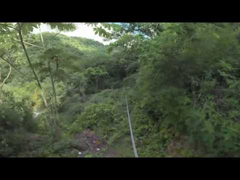 Experiencia Canopy en 360º-El Salvador Travel