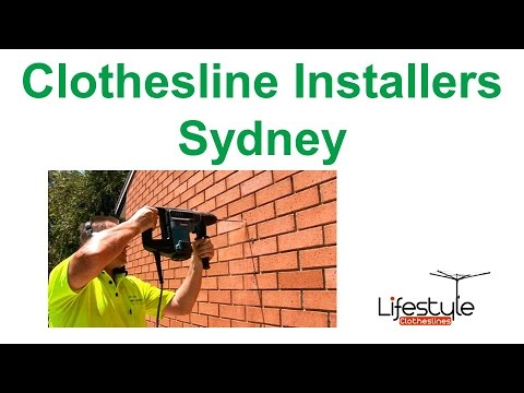 Clothesline Installers Sydney - Supply And Installation Sydney