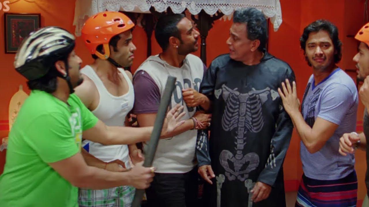 Download Golmaal 3 - Ajay Devgn, Arshad Warsi, Kunal Khemu, tusshar kapoor, Kareena - Best Comedy Scenes