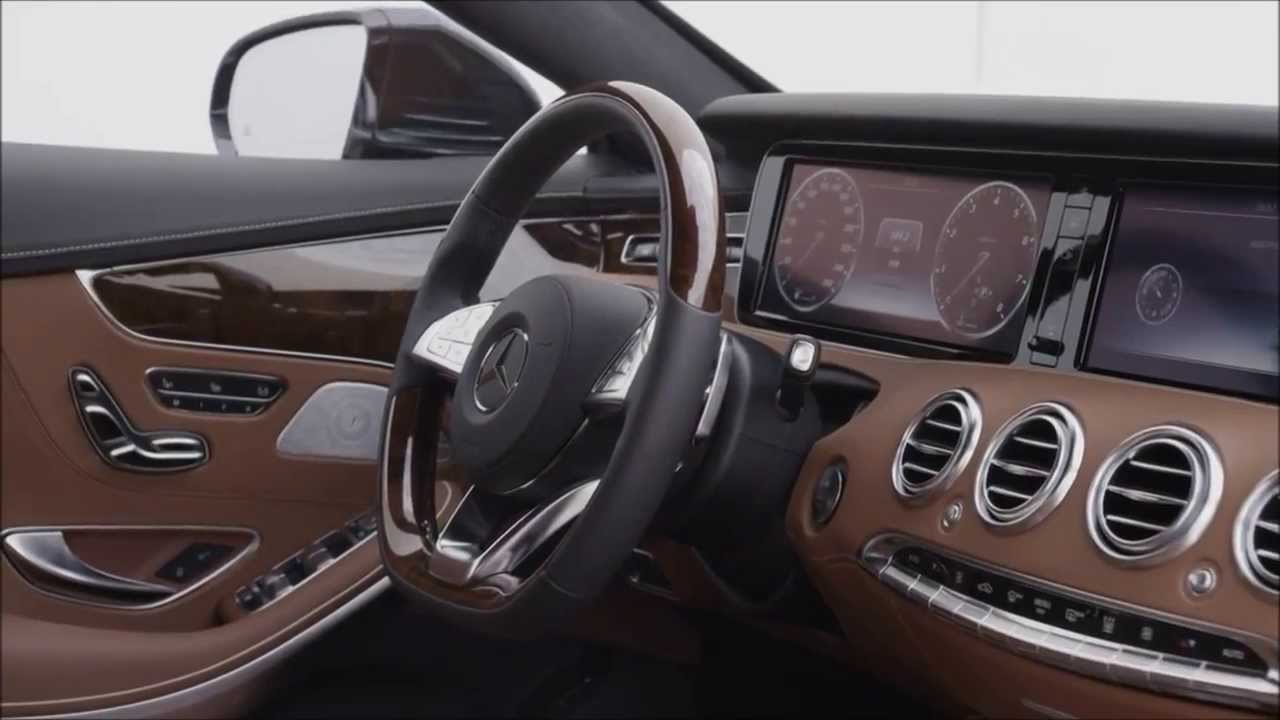 Mercedes Benz 2015 S Class Coupe Interior Hd Trailer Youtube