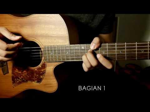 """Adhitia Sofyan """"Memilihmu"""" Tutorial Gitar - Video 1 : Chord Dasar & Petikan."""