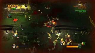 Burn Zombie Burn! (PS3) gameplay