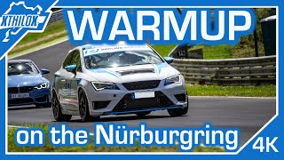 ONE BIG MISTAKE .. Warmup Lap with warm Jacket is way to warm :-D - Nürburgring Nordschleife  4K BTG