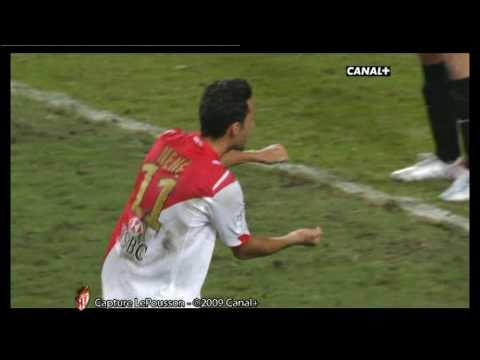 [2009/2010] 2009/09/13 AS Monaco 2-0 PSG Nene goal