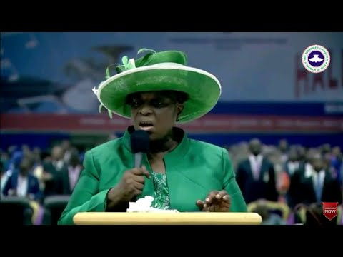 PASTOR MRS FOLU ADEBOYE PRAYER AUGUST 2017 RCCG HOLY GHOST SERVICE - HALLELUJAH