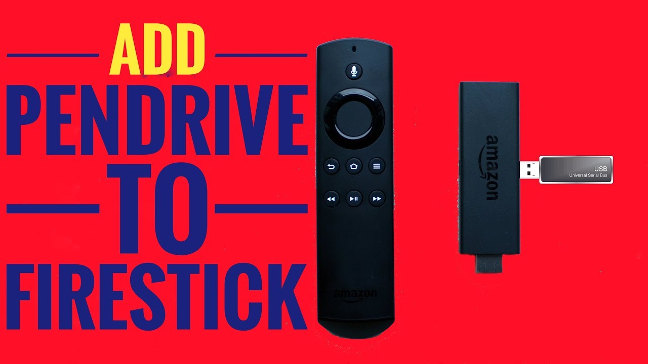 How to add pen drive to amazon firestick - increase fire stick memory
