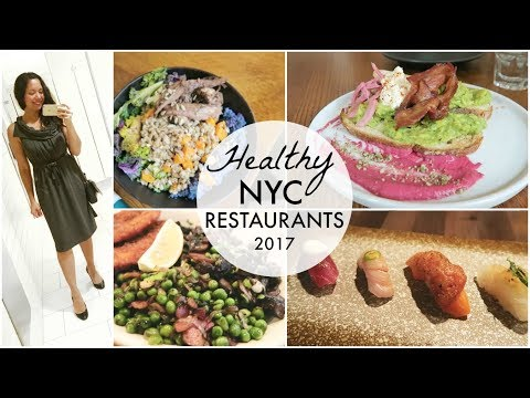 My Favorite Healthy NYC Restaurants | What I Eat Weekend Edition
