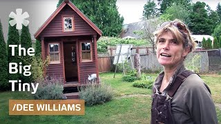 Micro-homesteading In Wa With 10k Microhome 84 Sq Ft In Friends' Yard