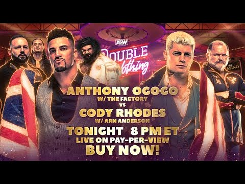 """Download Special Look: """"The American Dream"""" Cody Rhodes vs The Guv'nor Anthony Ogogo   LIVE! Tonight on PPV"""