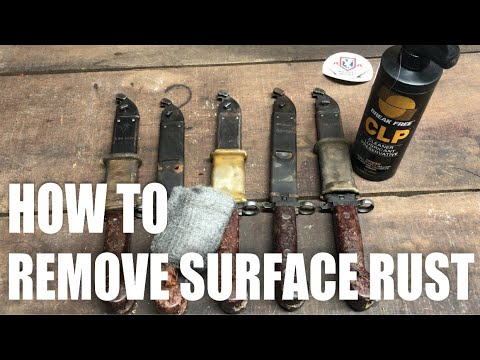 HOW TO REMOVE RUST FROM BLUED GUNS AND FIREARM ACCESSORIES | FULL LENGTH VIDEO