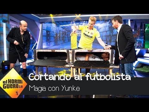 Yunke y Jandro cortan a Santi Cazorla en dos - El Hormiguero 3.0