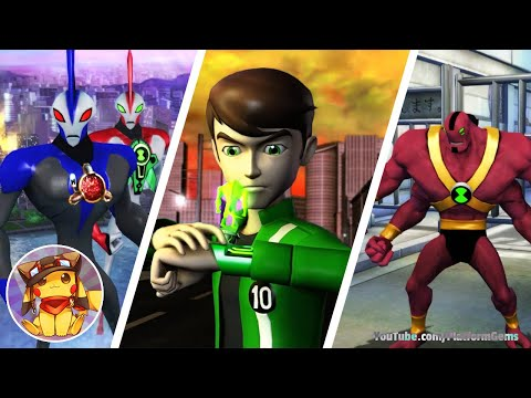 BEN 10 Ultimate Alien Cosmic Destruction - Ending - The Final Battle - Walkthrough (2010) [1080p]