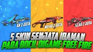 5 Skin Senjata Terbaik Idaman Para Bocil Bocil Di Game Free Fire