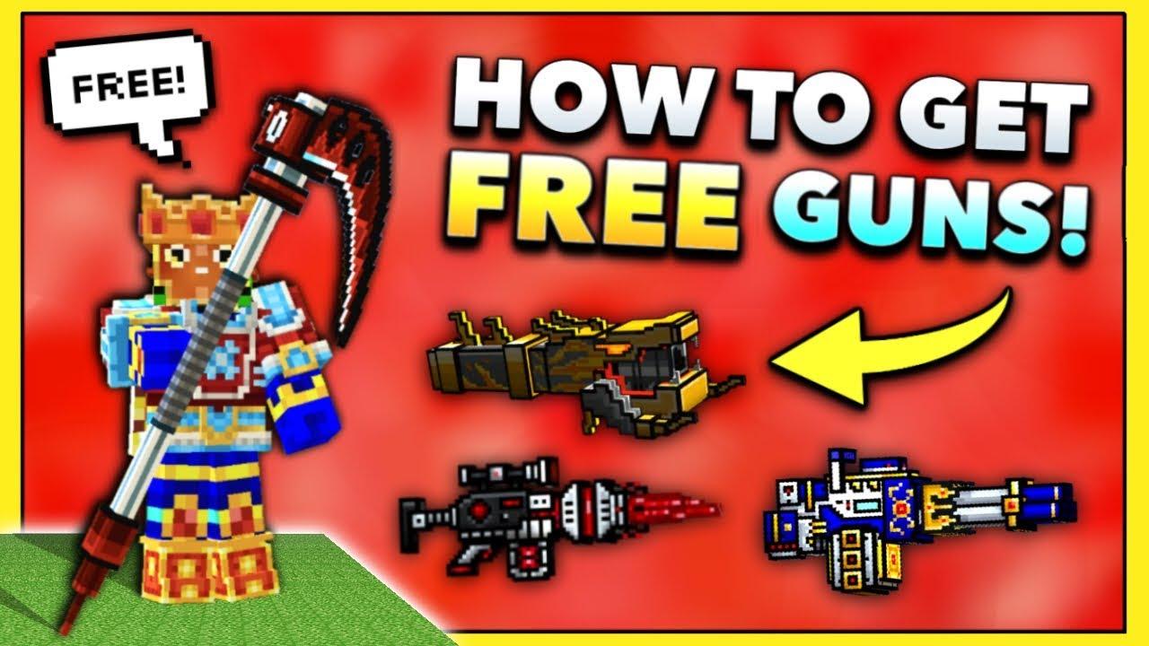 how to get all the guns in pixel gun 3d